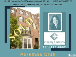 Potomac Club Realtor, 15189 Lancashire Dr #356