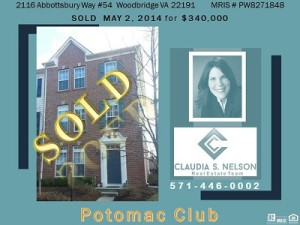 Potomac Club Realtor, 2116 Abbottsbury way #54 Potomac Club,