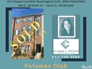 Potomac Club Realtor, 2272 Margraf Cir #378
