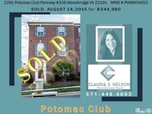 Potomac Club Realtor, 2281 Potomac Club Parkway #336