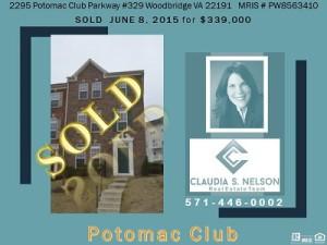 Potomac Club Realtor, 2295 Potomac Club Pkway #329