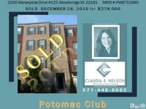 Potomac Club Realtor, 2336 Merseyside Drive #125
